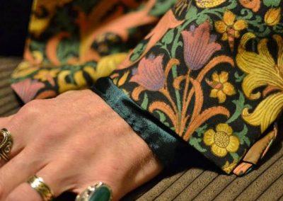 William Morris 'Golden Lily' fabric
