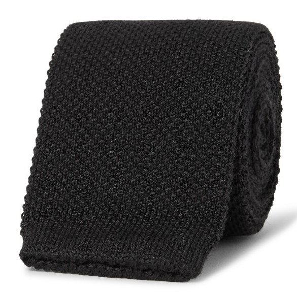 black-60s-knitted-tie-2