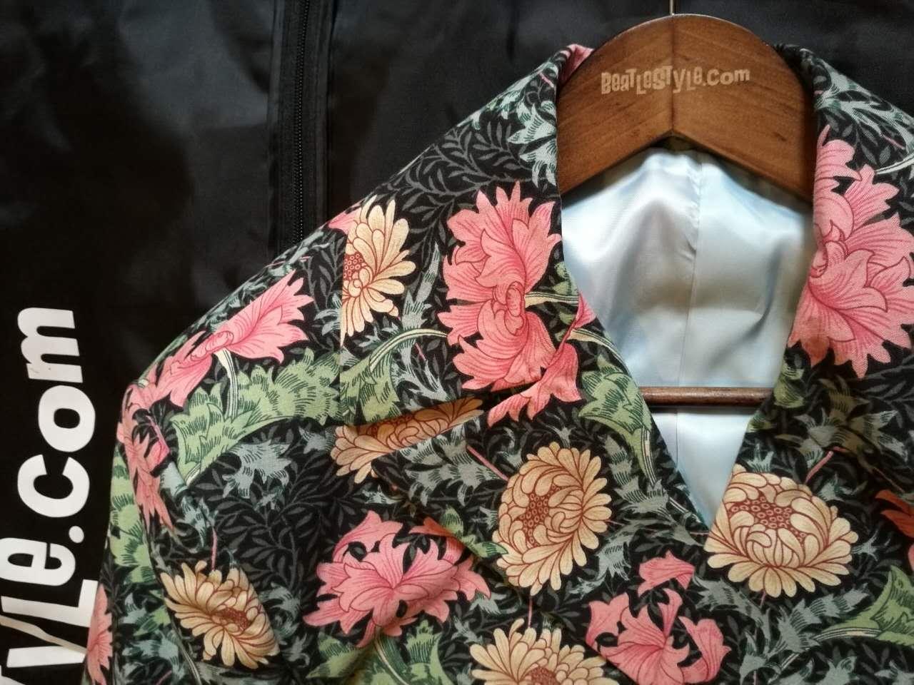 William Morris 'Chrysanthemum' fabric