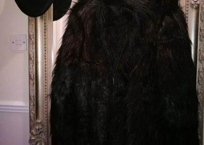 Beatlestyle black fur coat 3