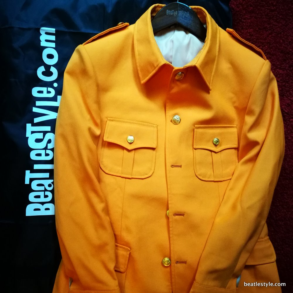 Strawberry Fields Orange full jacket small