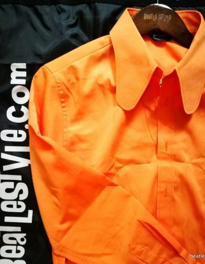 deep orange beagle shirt