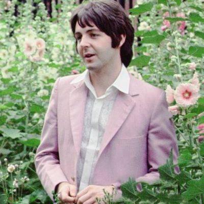 Pauls Pink Suit