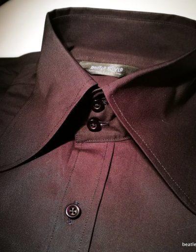 Beagle shirt 2 button collar