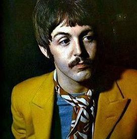 Paul McCartney mustard jacket